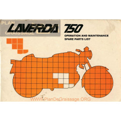 Laverda 750 Sf Gt Libro Taller Y Despiece