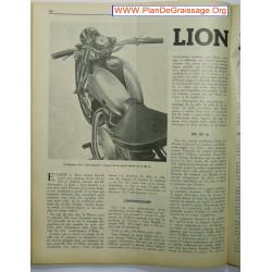 Lion Rapide 125 200 Cc 1952