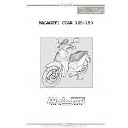 Malaguti Ciak 125 150 Manual De Reparatie