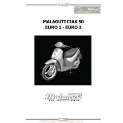 Malaguti Ciak 50 E1 E2 Manual De Reparatie