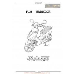 Malaguti F 18 Warrior Manual De Reparatie
