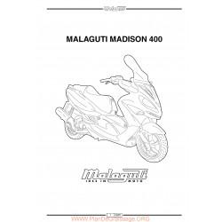 Malaguti Madison 400 Manual De Reparatie