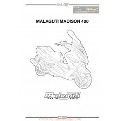 Malaguti Madison 400 Service Manual