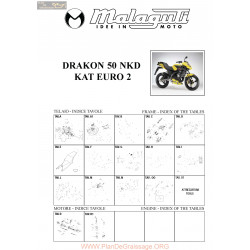 Malaguti R0001 Drakon Nkd 50 Euro 2