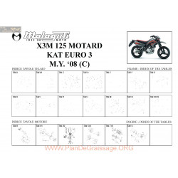 Malaguti R0003 X3m 125 Motard Vm5