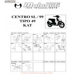 Malaguti R0007 Centro Sl 50 99 Kat