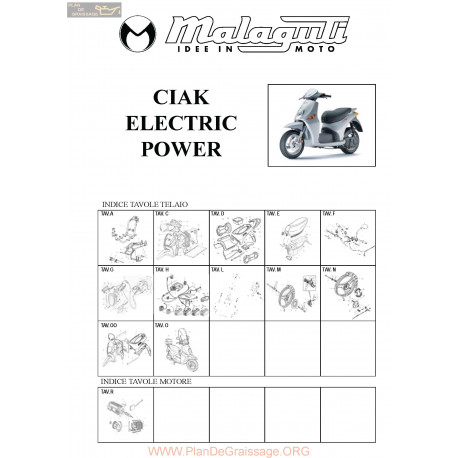 Malaguti R0013 Ciak Electric Power