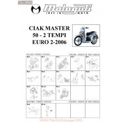Malaguti R0016 Ciak Master 50 Euro 2 2004 2006