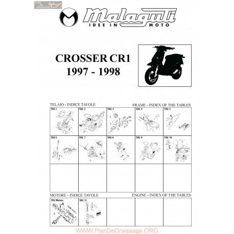 Malaguti R0017 Crosser 50
