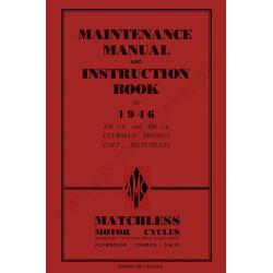 Matchless 1946 G3l G80l Manual De Intretinere