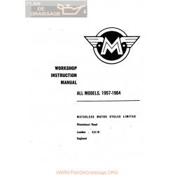 Matchless 1957 1964 Workshop Instruction Manual