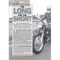 Matchless 350 Singles 1954 1958 1962 Roadtest Classic Bike 1991