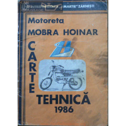 Mobra Hoinar 1986 Manual De Utilizare