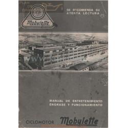 Mobylette 49 Cc Manual Entretenimiento