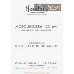 Mondial Motoleggera 125 Ca