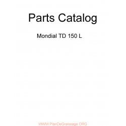 Mondial Td 150 L Parts List
