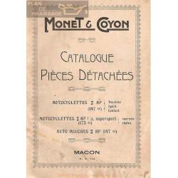 Monet Goyon 147 Cc Y 175 Catalogo De Piezas De Recambio