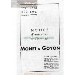 Monet Goyon 500 L5 Ai 1940 Manual Mantenimiento