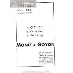 Monet Goyon 500cc Tipe L5a1 Entretenimiento E Iluminacion