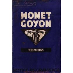 Monet Goyon 98 Cc Modelos S1 S2 S3 Manual De Engrase Y Mantenimiento