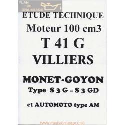 Monet Goyon 98 Cc T 41 G S3g S3 Gd Despiece Y Manual Motor