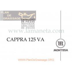 Montesa Cappra 125 Va Catalogo De Piezas