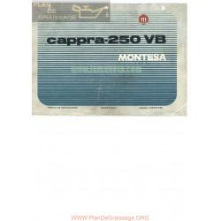 Montesa Cappra 250 Vb Manual Instrucciones Ingles