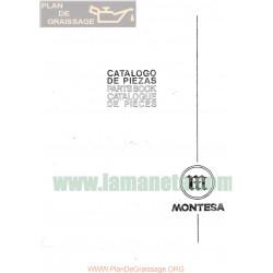 Montesa Cappra 360 Gp Catalogo De Piezas