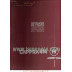 Montesa Cappra 414 Catalogo De Piezas