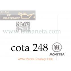 Montesa Cota 248 Despiece