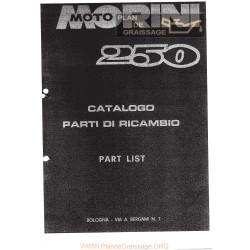 Morini 250 Cat Ricambi