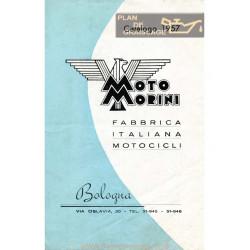 Morini 86cc 175cc Ca 1957