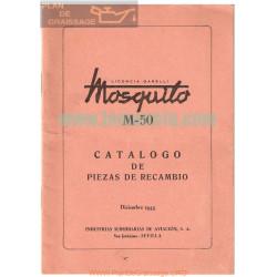 Mosquito M 50 Catalogo Piezas De Recambio