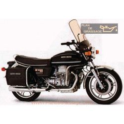 Moto Guzzi 1000 G5 1980 Parts List
