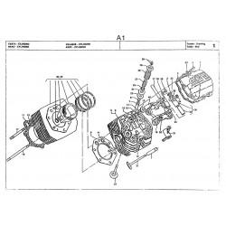 Moto Guzzi 1000 Gt 1990 Parts List