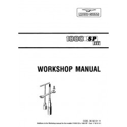 Moto Guzzi 1000 Sp3 Manual De Reparatie