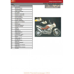 Moto Guzzi 1100 Quota 1999 2001 Parts List