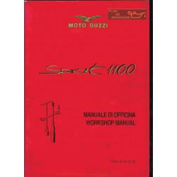 Moto Guzzi 1100 Sport Carb Manual De Reparatie