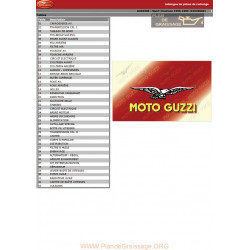 Moto Guzzi 1100 Sport Ie 1996 1999 Parts List
