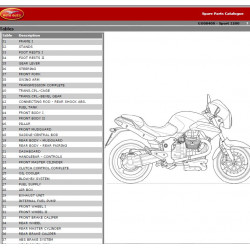 Moto Guzzi 1200 Sport 2006 Parts List