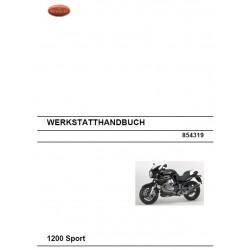 Moto Guzzi 1200 Sport 2008 Manual De Reparatie