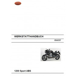Moto Guzzi 1200 Sport Abs 2008 Manual De Reparatie