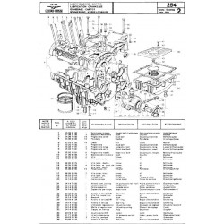 Moto Guzzi 254 1977 Parts List