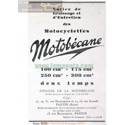 Motobecane 100cc 175cc 250cc 350cc 2tiempos Manual Entretenimiento Frances