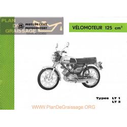 Motobecane 125 Lt1 Lt2 Pieces Detachee