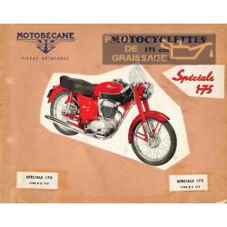 Motobecane 175zs Le Catalogue Pieces De Rechange