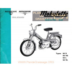 Motobecane 22 Catalogue Pieces Detachees Av50