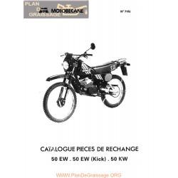 Motobecane 50 Ew Kick Kw 7182 Cataloe Pieces