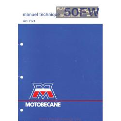 Motobecane 50 Ew Le Manuel De Reparation