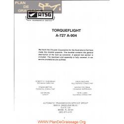 Chrysler Atgs A727 A 904 Torqueflight